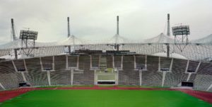 Olympiastadion, München, Tyskland | Konstprojekt – Big Buildings are Good Buildings and Good Buildings are Big Buildings
