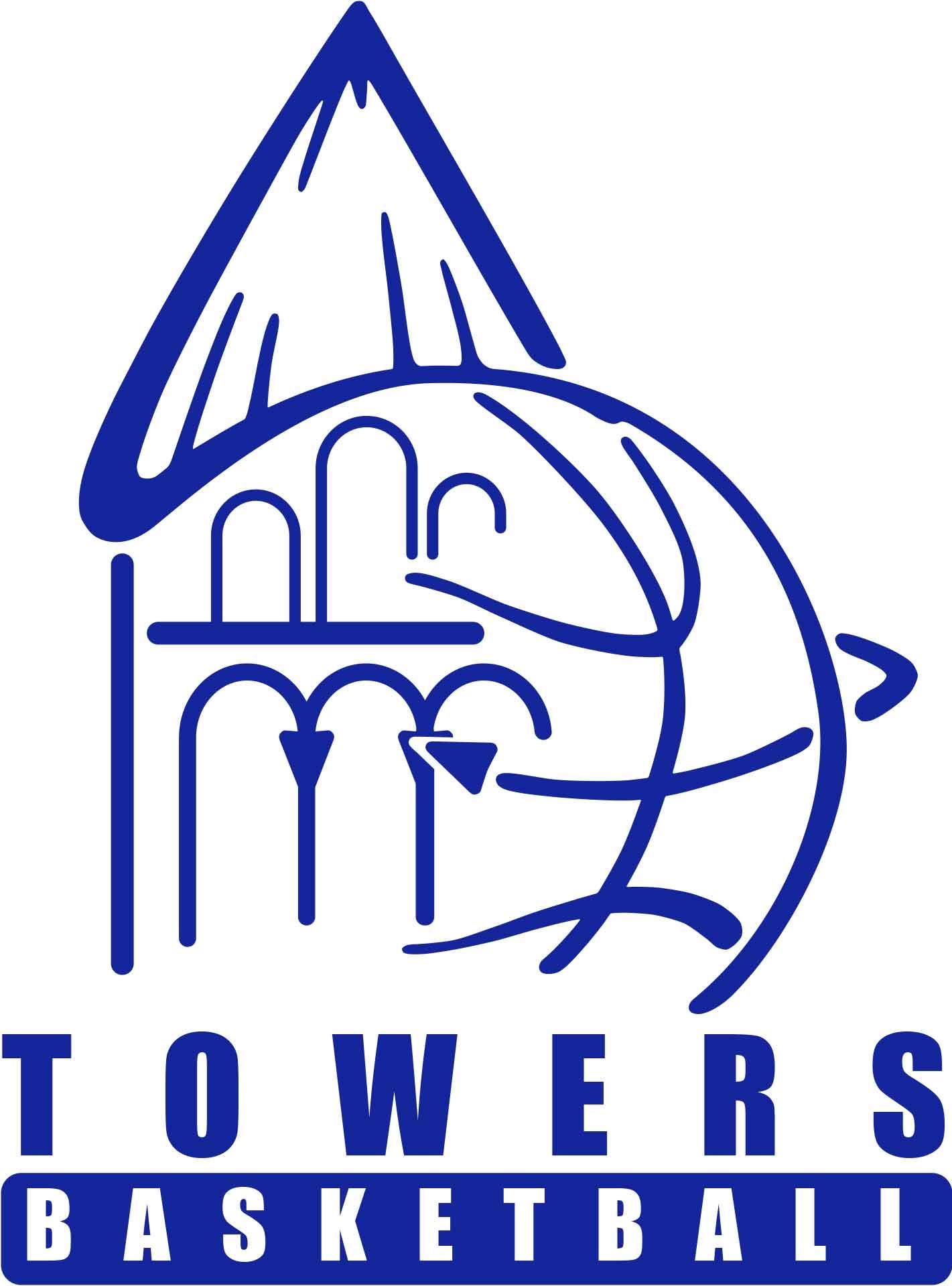 Logo mit Vektoren nachzeichnen | Towers Basketball