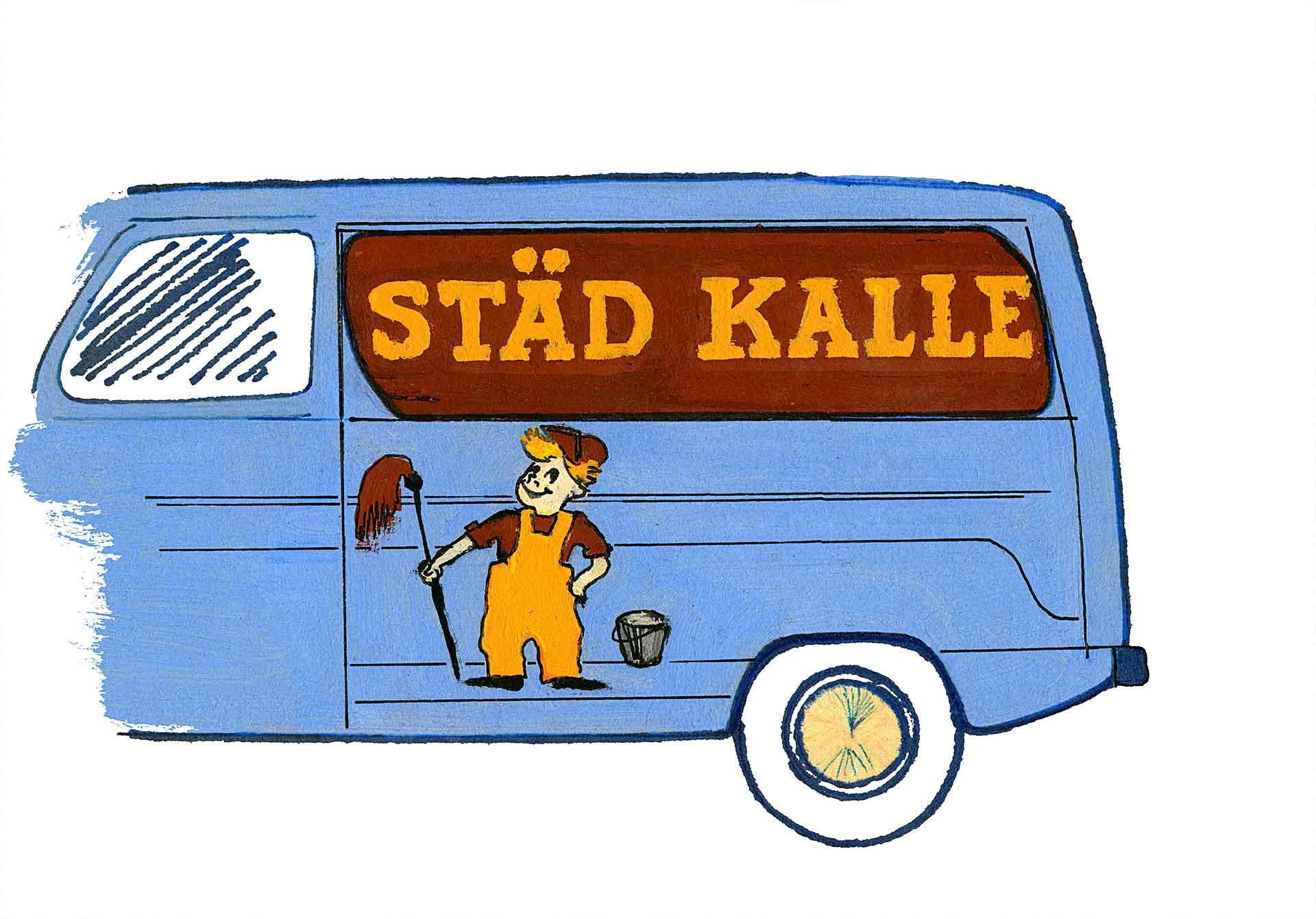 Restaurierung von Zeichnung | Clean Kalle, Finnland